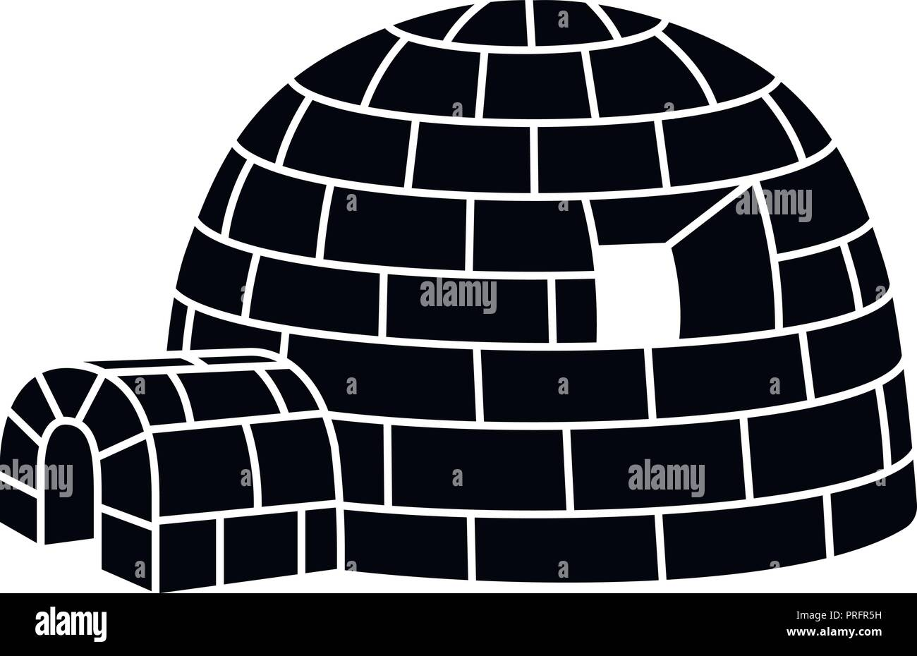 Eskimo Igloo Stock Photos & Eskimo Igloo Stock Images - Alamy