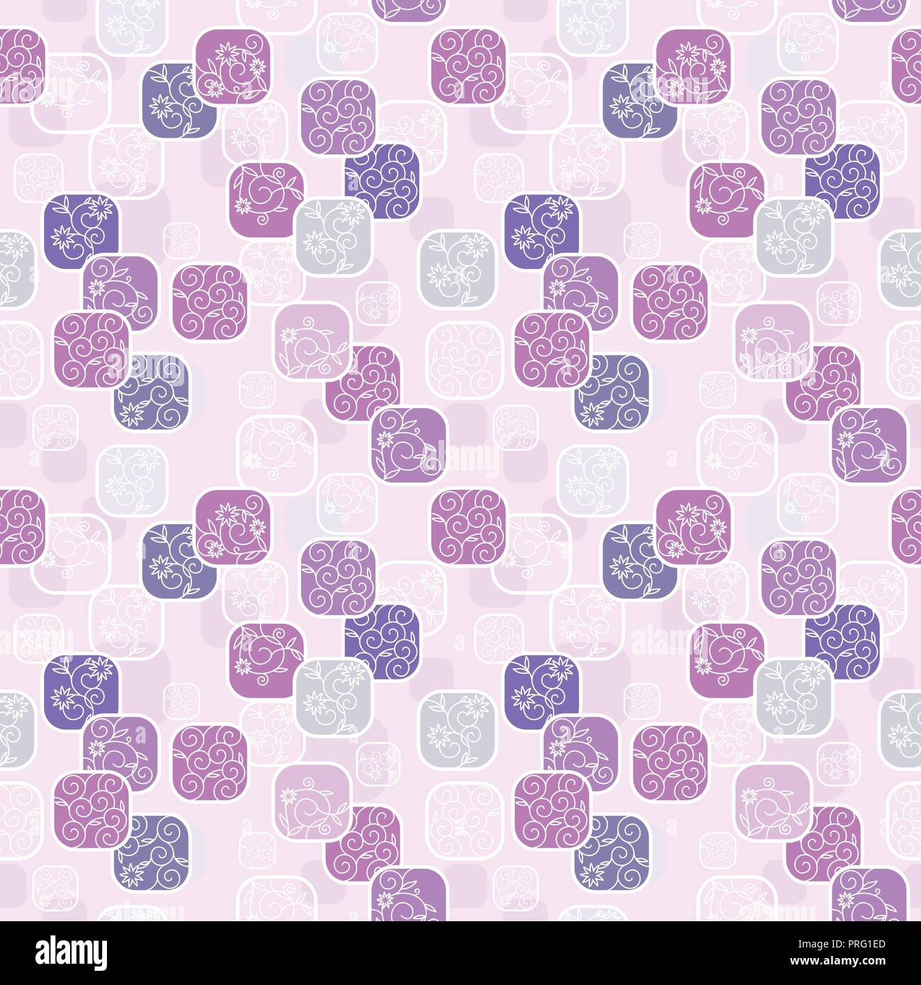 Vector Seamless Pattern With Romantic Floral Background Subtle