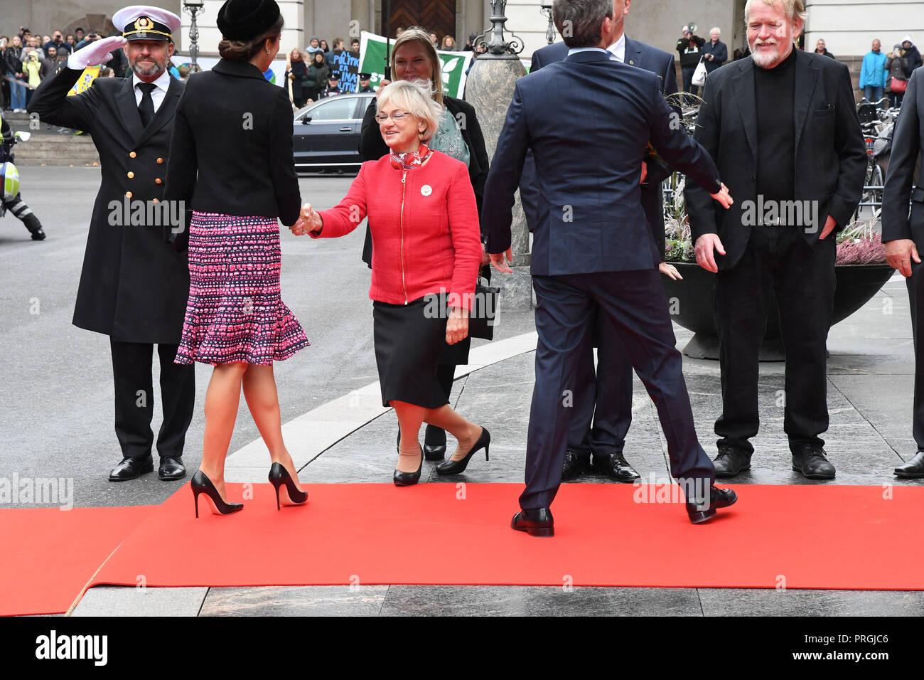 Copenhagen, Denmark  2nd October, 2018  Danish Royal family