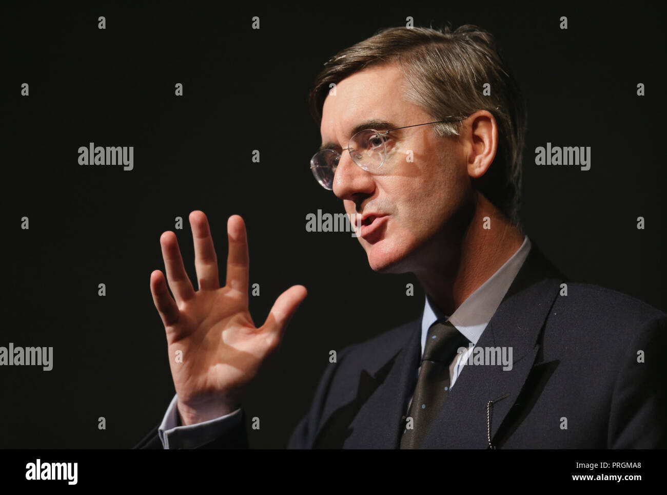 JACOB REES-MOGG MP, CONSERVATIVE MP 2018 - Stock Image