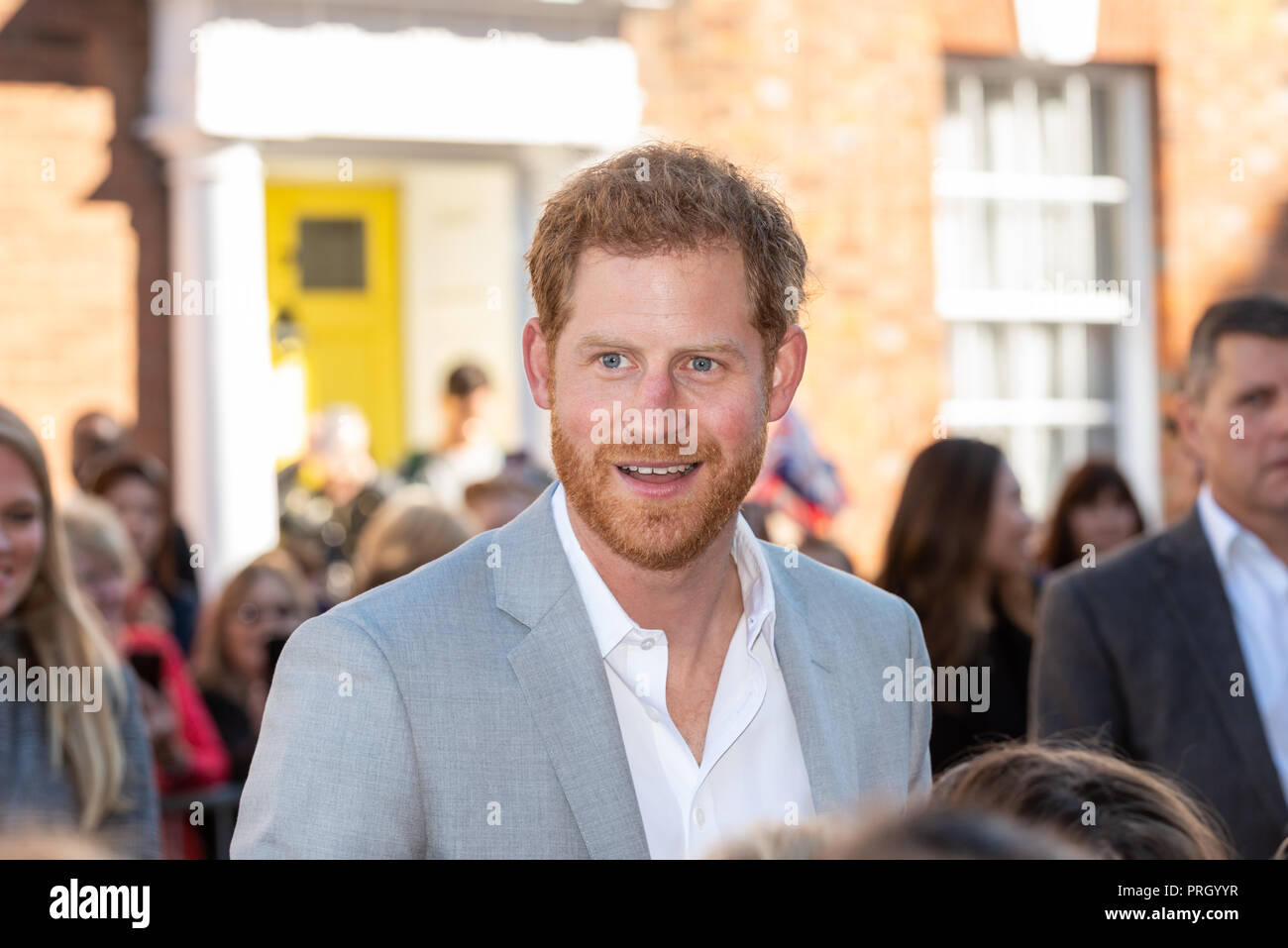 Prince Harry PortraitStock Photos and Images