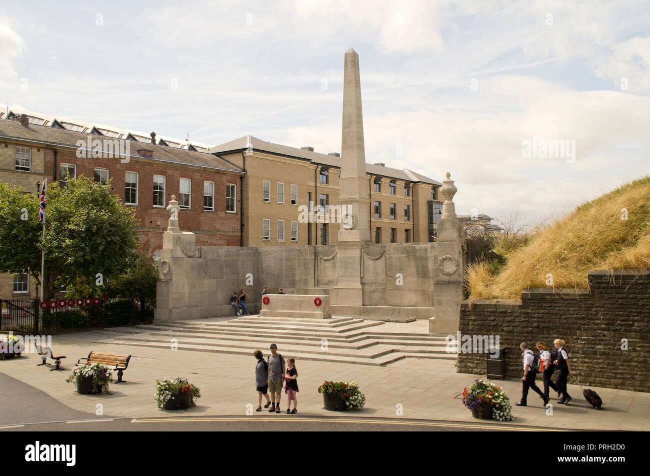 North Eastern Railway War Memorial York - Stock Image