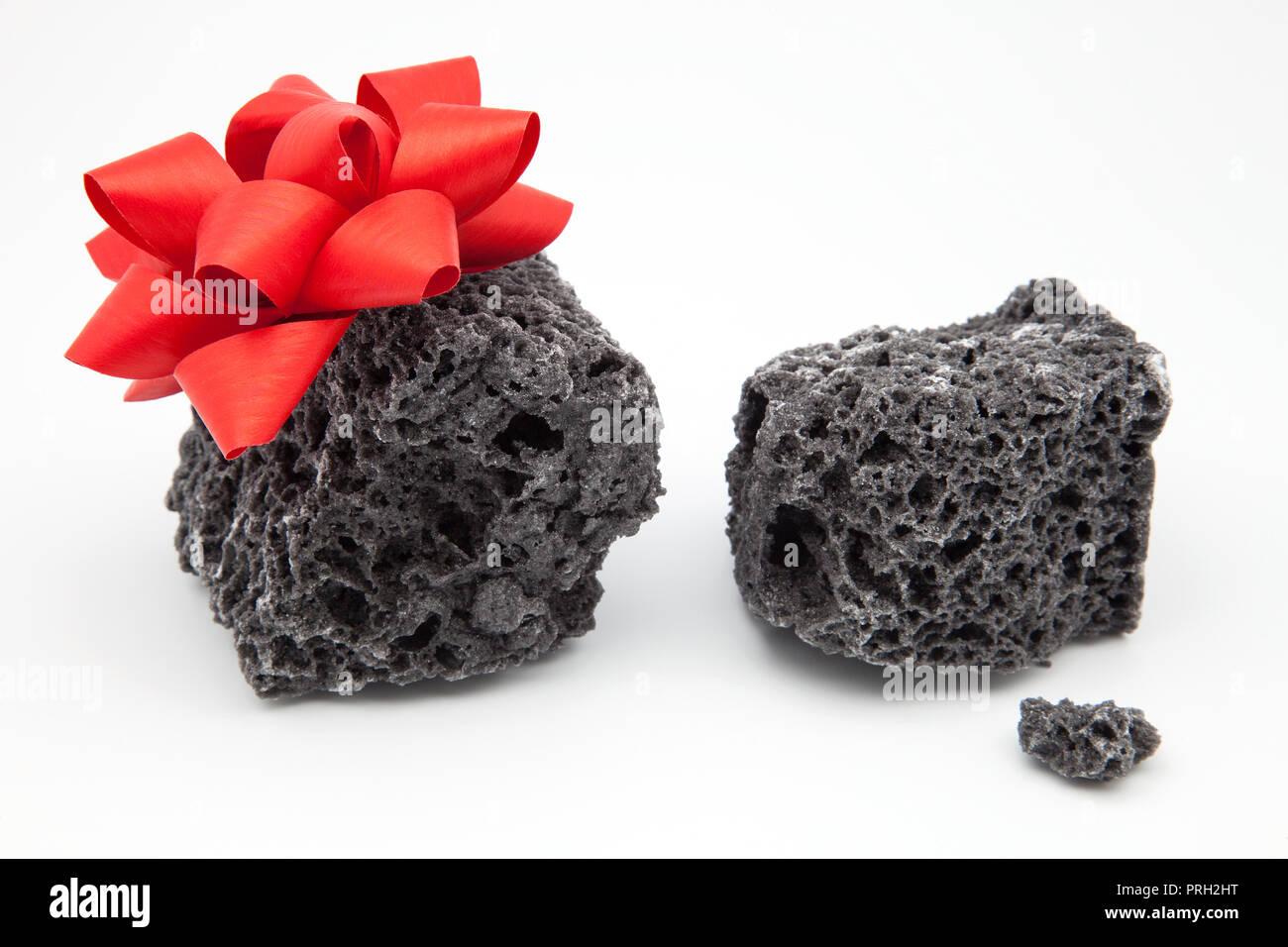 coal of gift for Christmas Stock Photo: 221036756 - Alamy