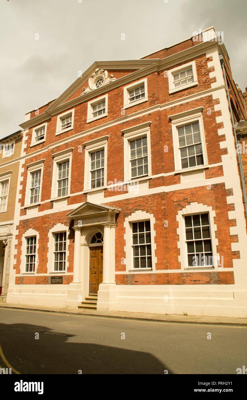 Fairfax House Castlegate York - Stock Image
