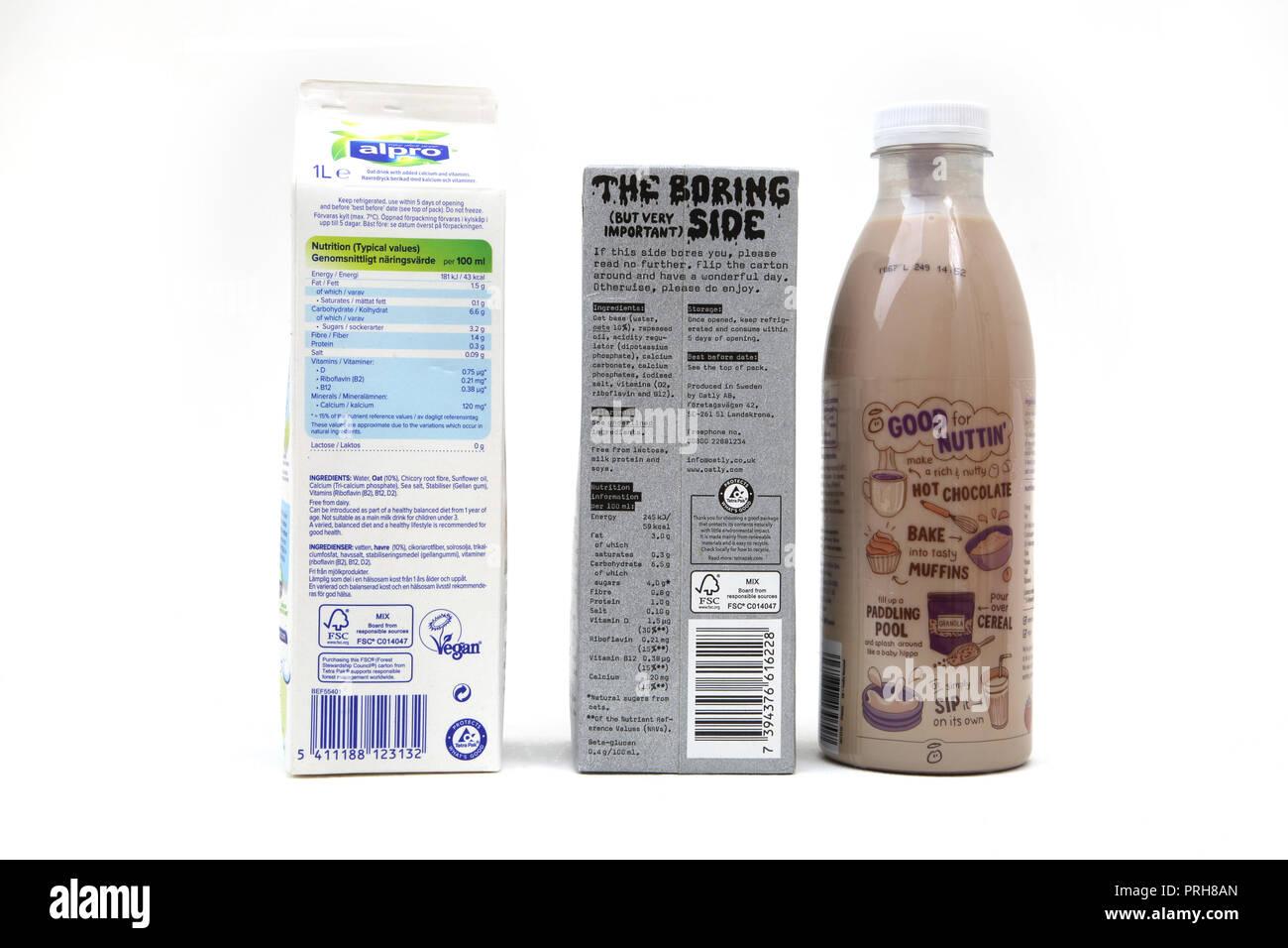 Alpro Milk Stock Photos Alpro Milk Stock Images Alamy