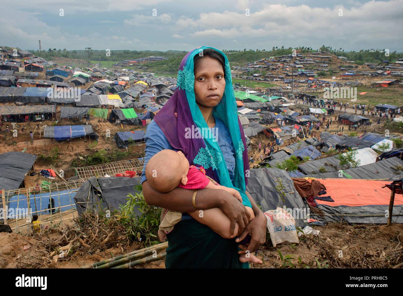 Rohingya refuges Stock Photo