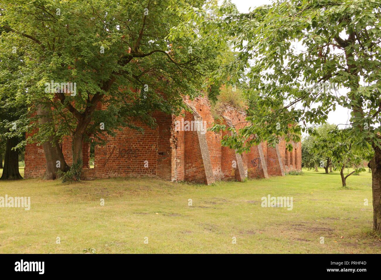 Auf dem Klostergelände des ehemaligen Klosters in Bad Doberan - Stock Image