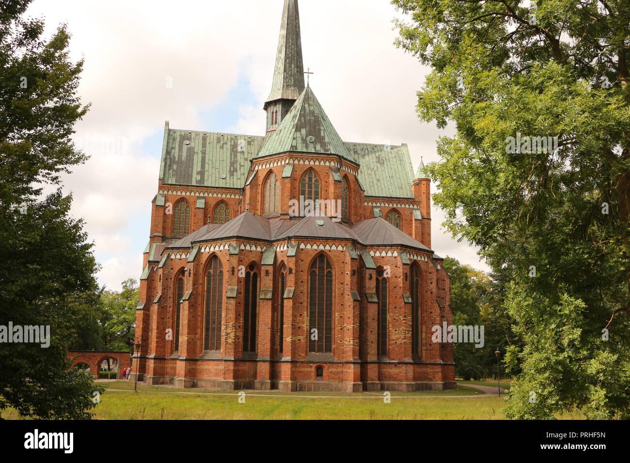Die ehemalige Klosterkirche in Bad Doberan - Stock Image