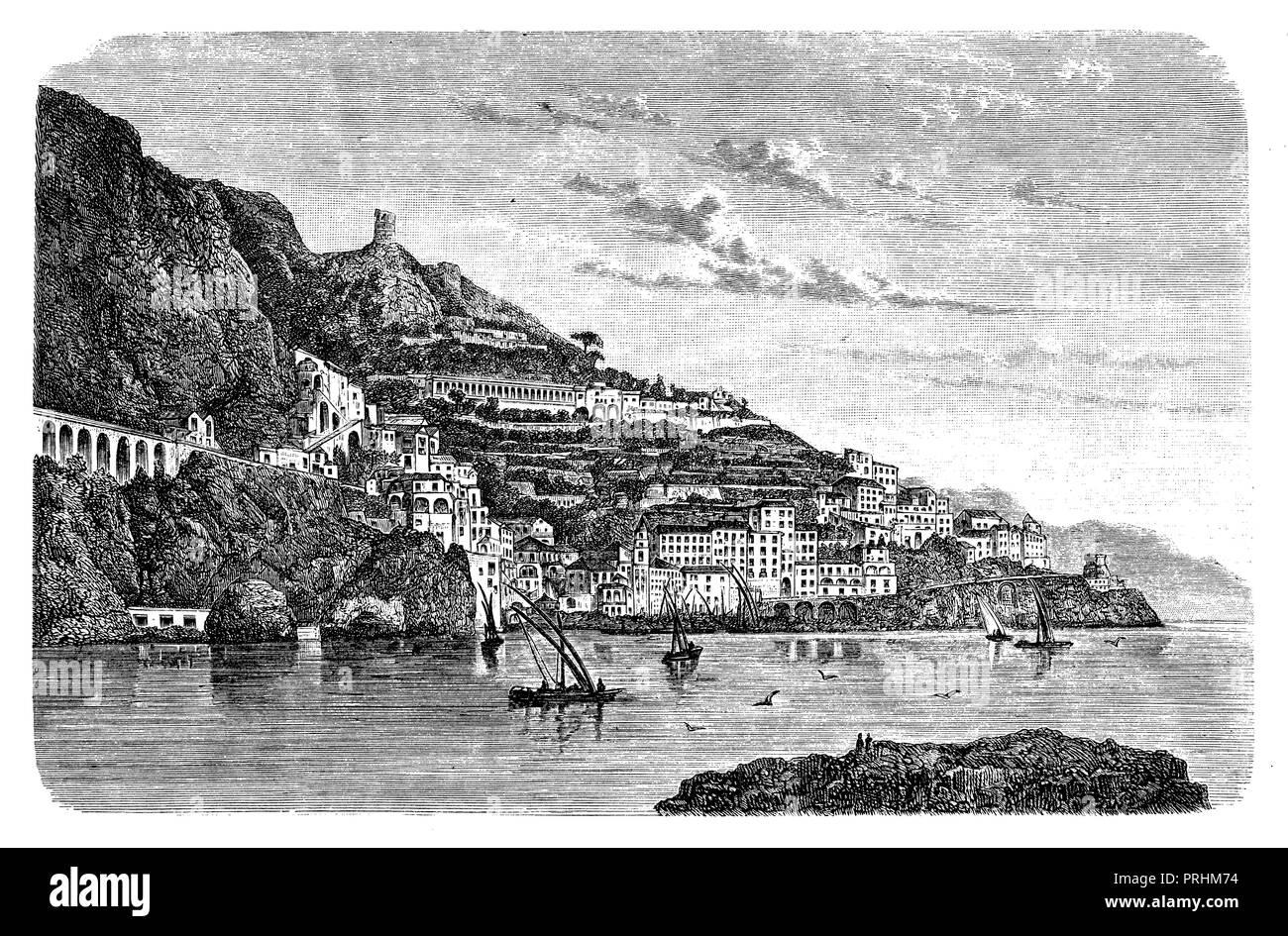 Amalfi, - Stock Image