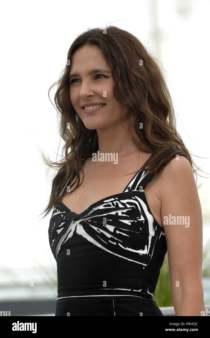 Cannes (south-eastern France). 71st Cannes Film Festival. Virginie Ledoyen. Photocall: jury of 'Un certain Regard', a section of the official selectio - Stock Image