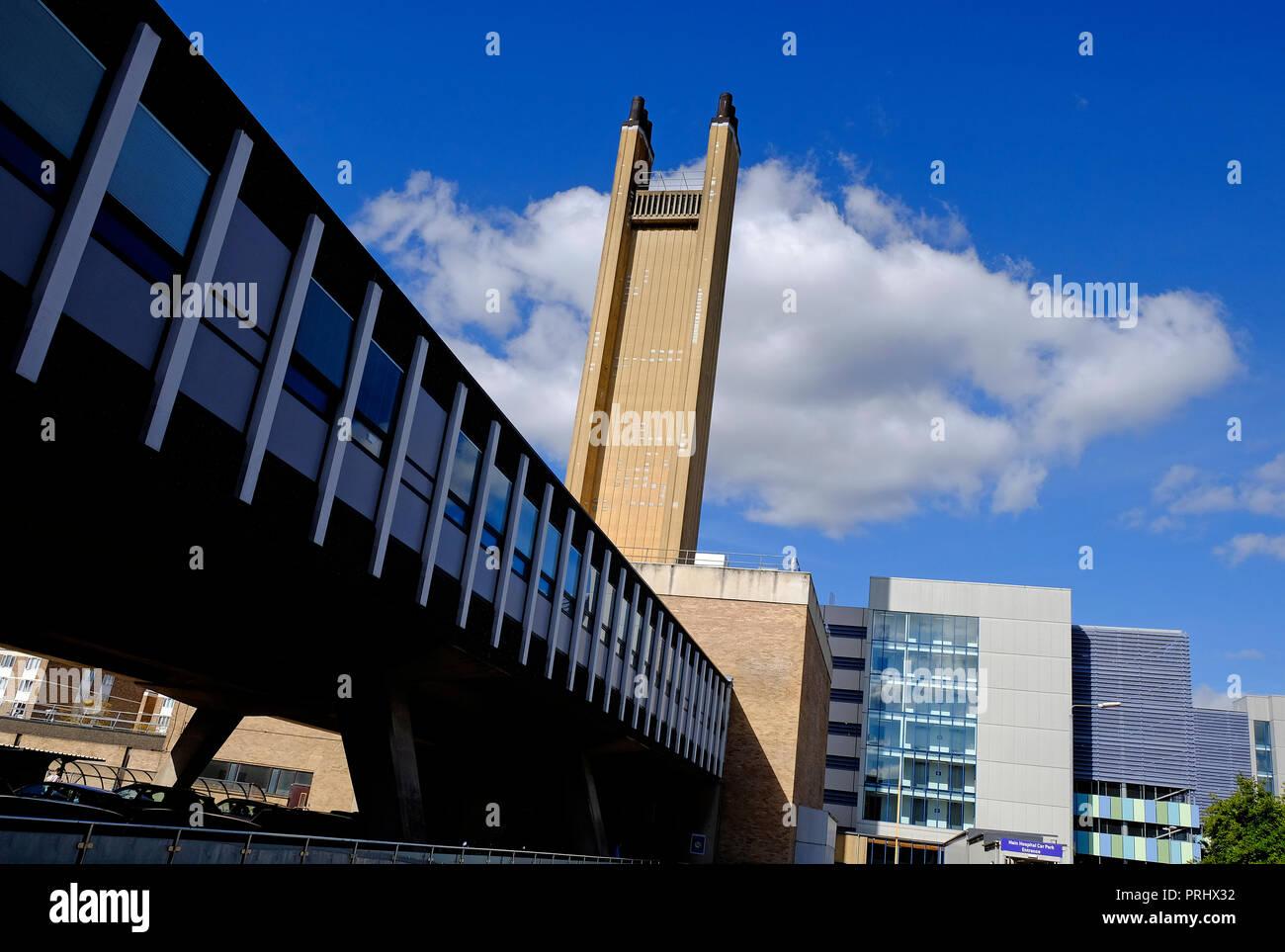 addenbrooke's, cambridge university hospital, england - Stock Image