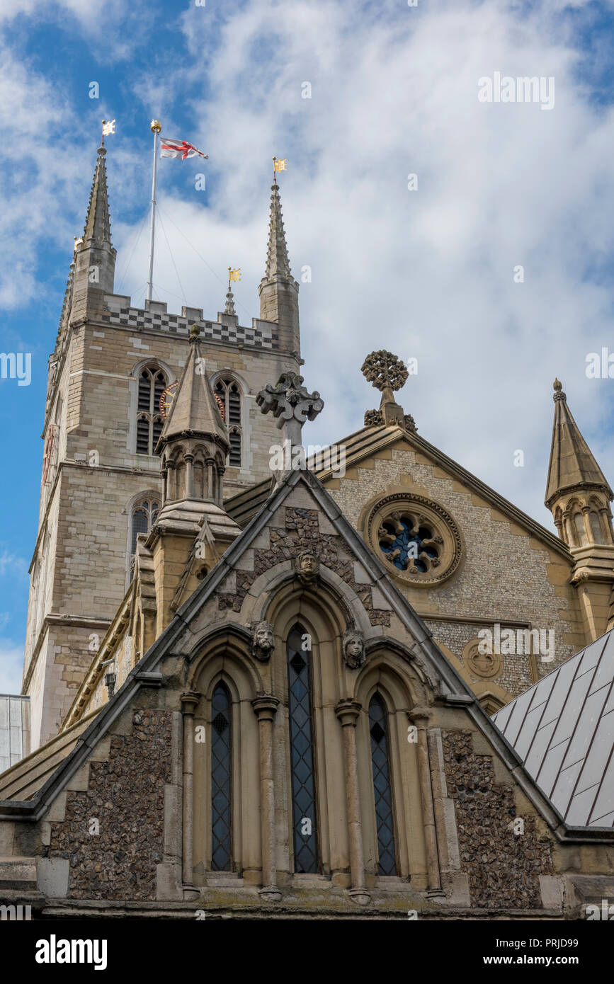 southwark cathedral, southwark, london. - Stock Image
