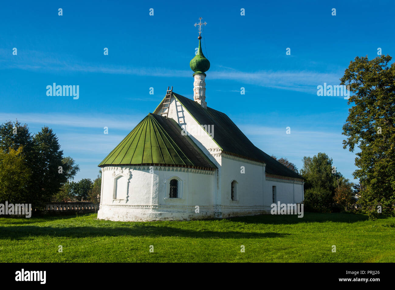 Church of Boris and Gleb, Kidesha, Russia - Stock Image