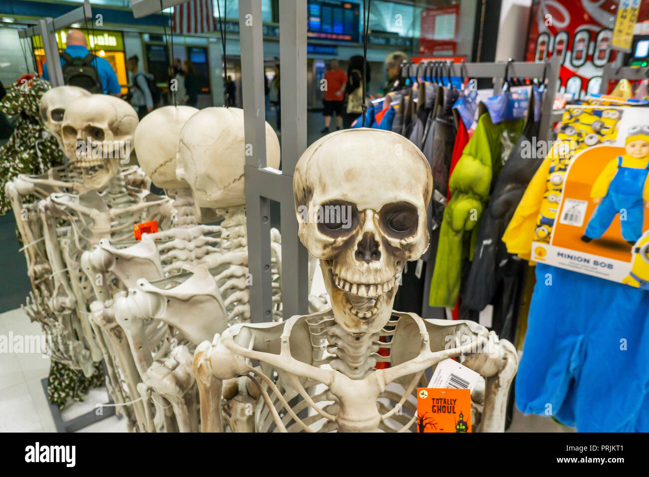 halloween merchandise at a kmart store in new york on friday
