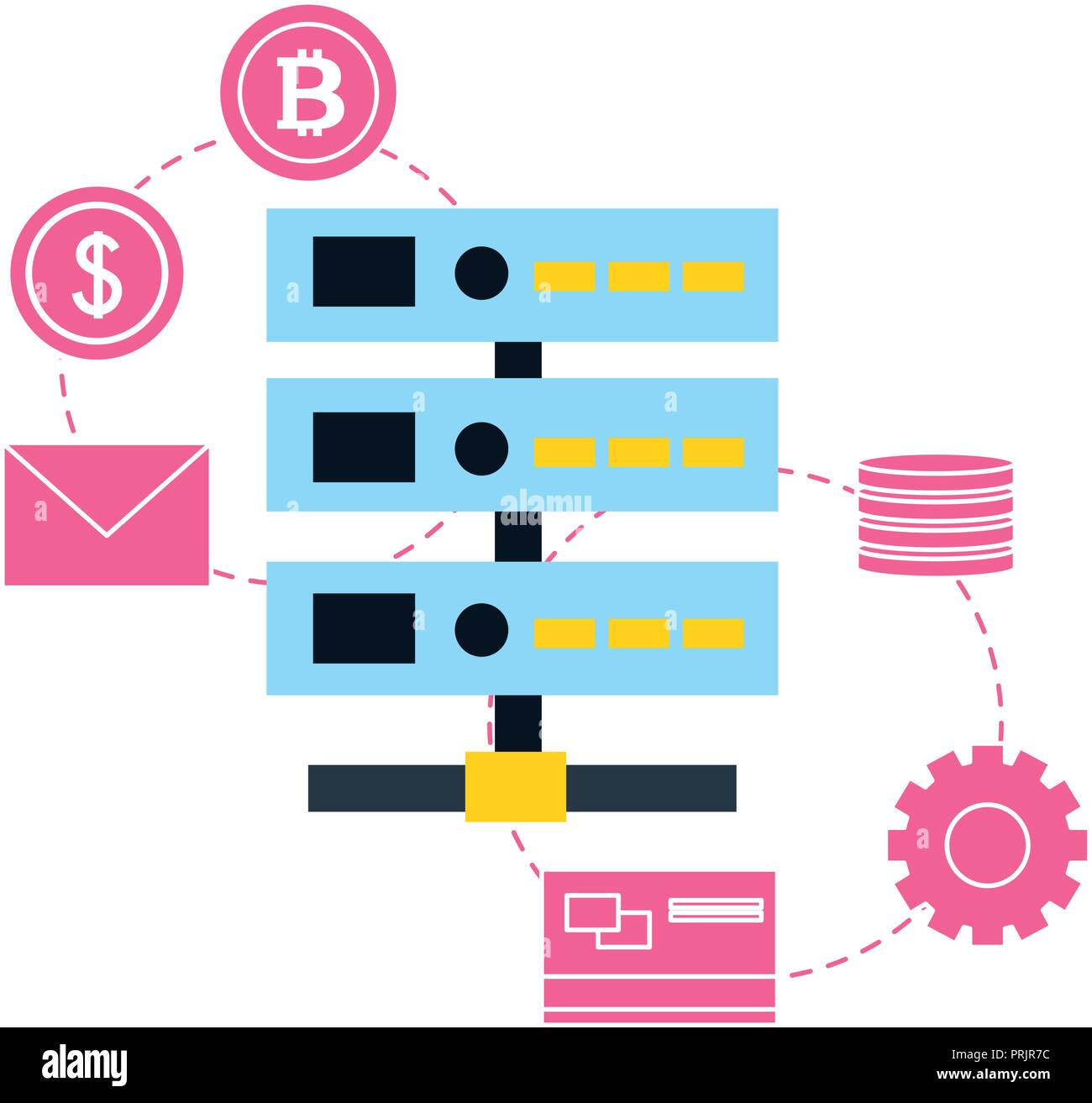Database And Bank Stock Photos & Database And Bank Stock