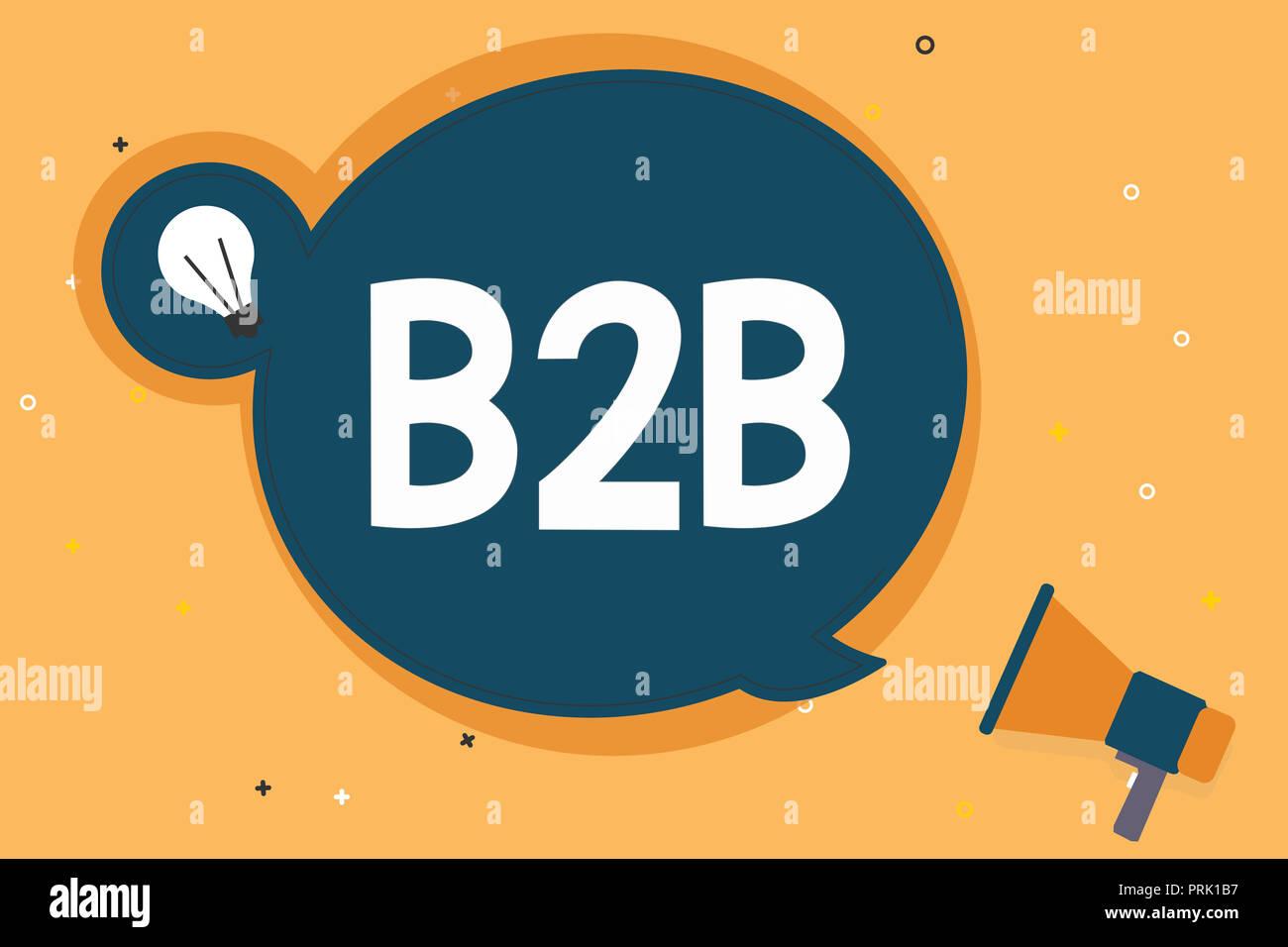 The B2B
