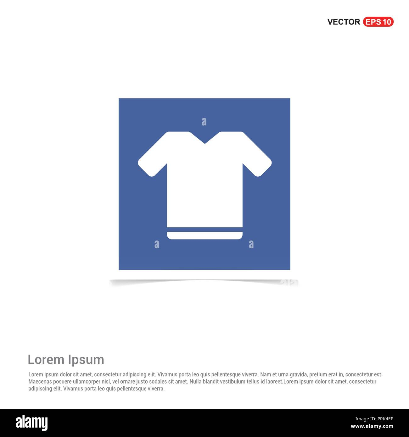 Football Kit Icon - Blue photo Frame Stock Vector Art & Illustration ...