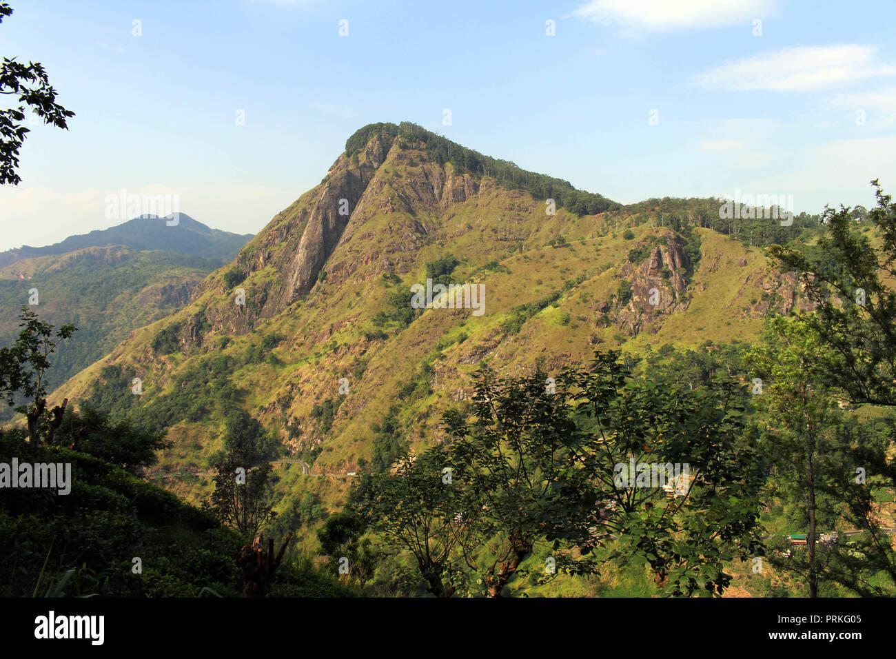 cb826029e The view of Ella Rock from Little Adam s Peak in Ella. Taken in Sri Lanka