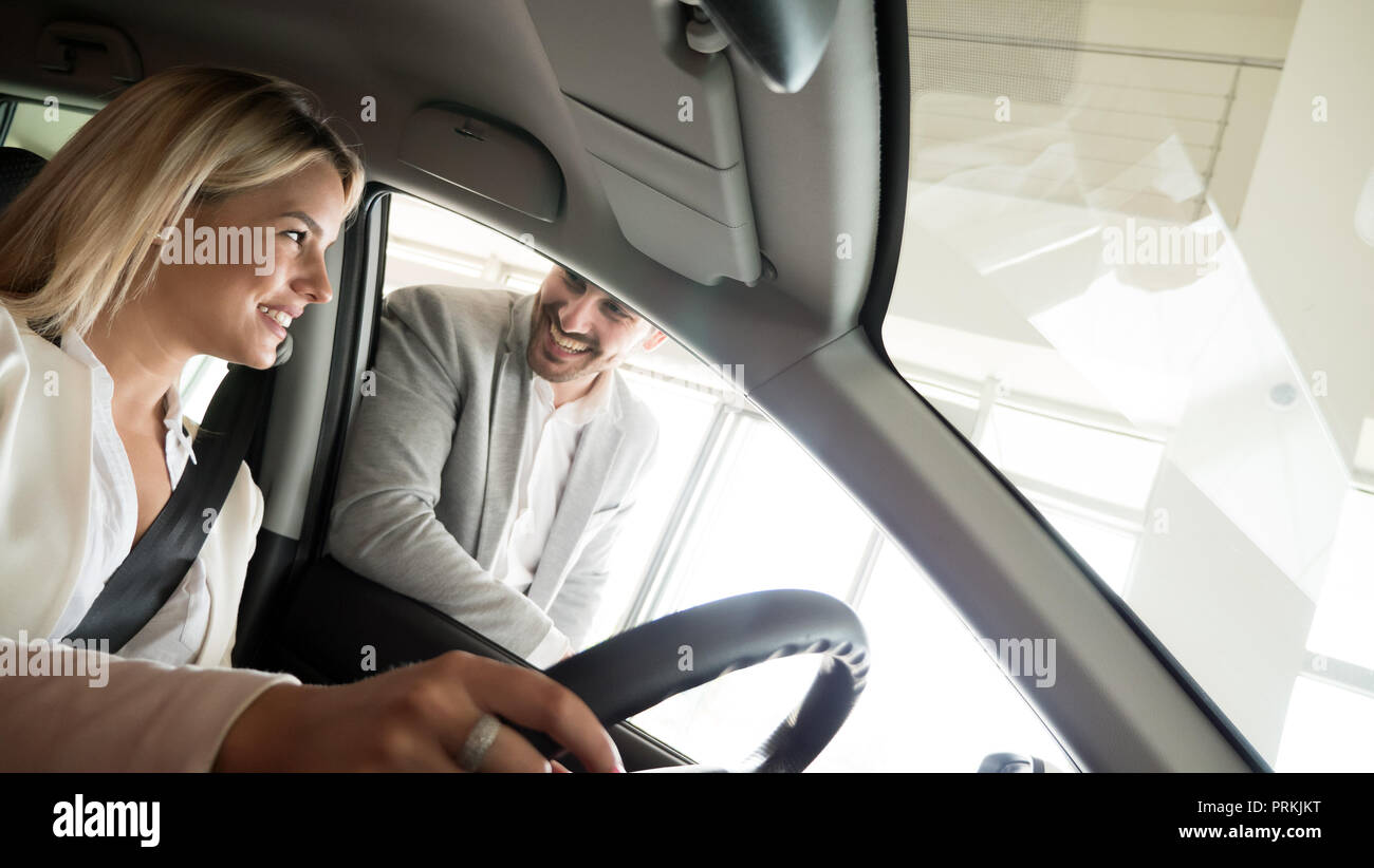 Happy Auto Sales >> Auto Business Car Sale Consumerism And People Concept