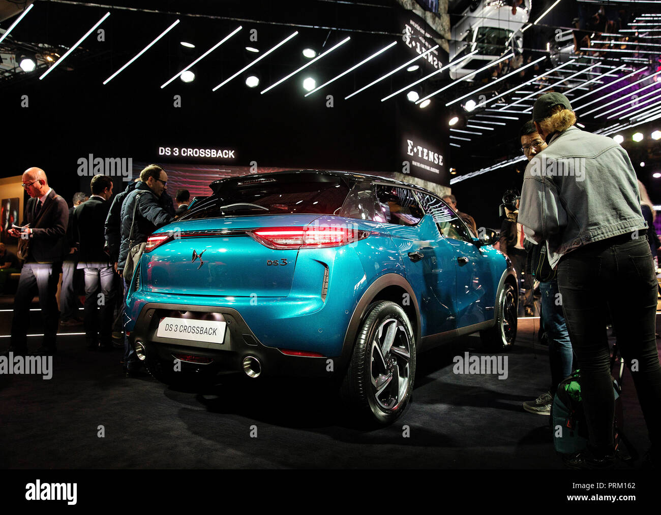 DS3 Crossback during the second day of International Paris Motorshow on Wednesday, October 3rd, 2018 in Paris, France. (CTK Photo/Petr Mlch) - Stock Image