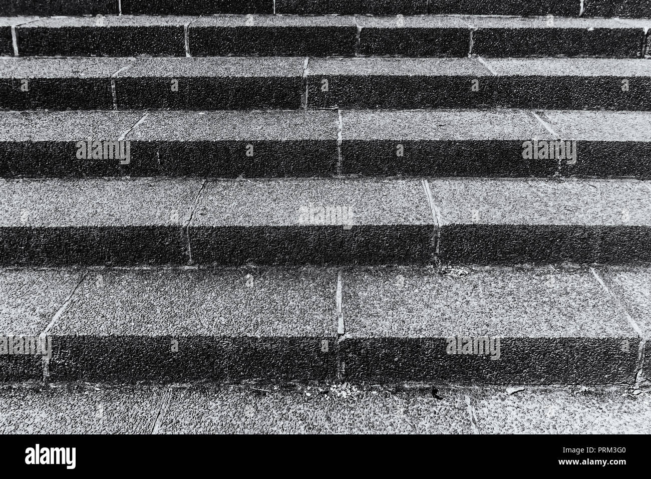 Berlin, Germany, May 29, 2018: Full Frame Close-Up of Staircase - Stock Image