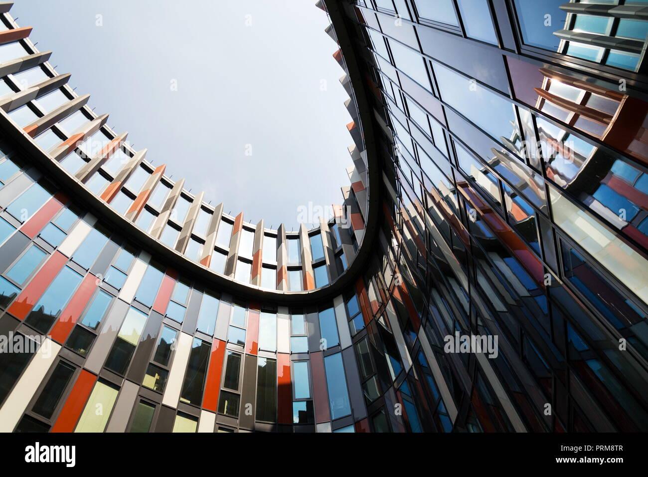 Brise Soleil Sun Breakers On Modern Office Building Facade Global