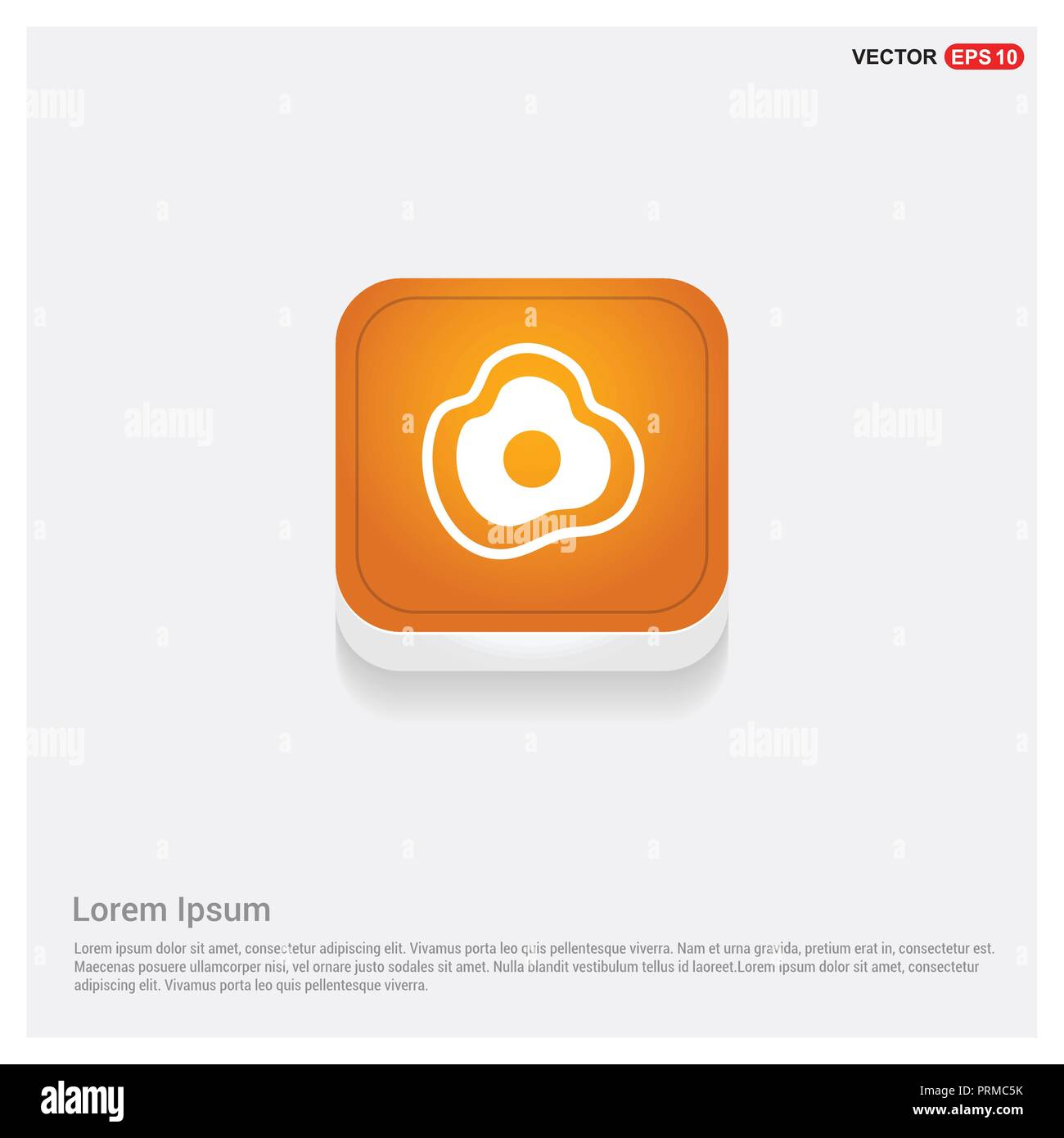 egg omelet icon - Stock Vector