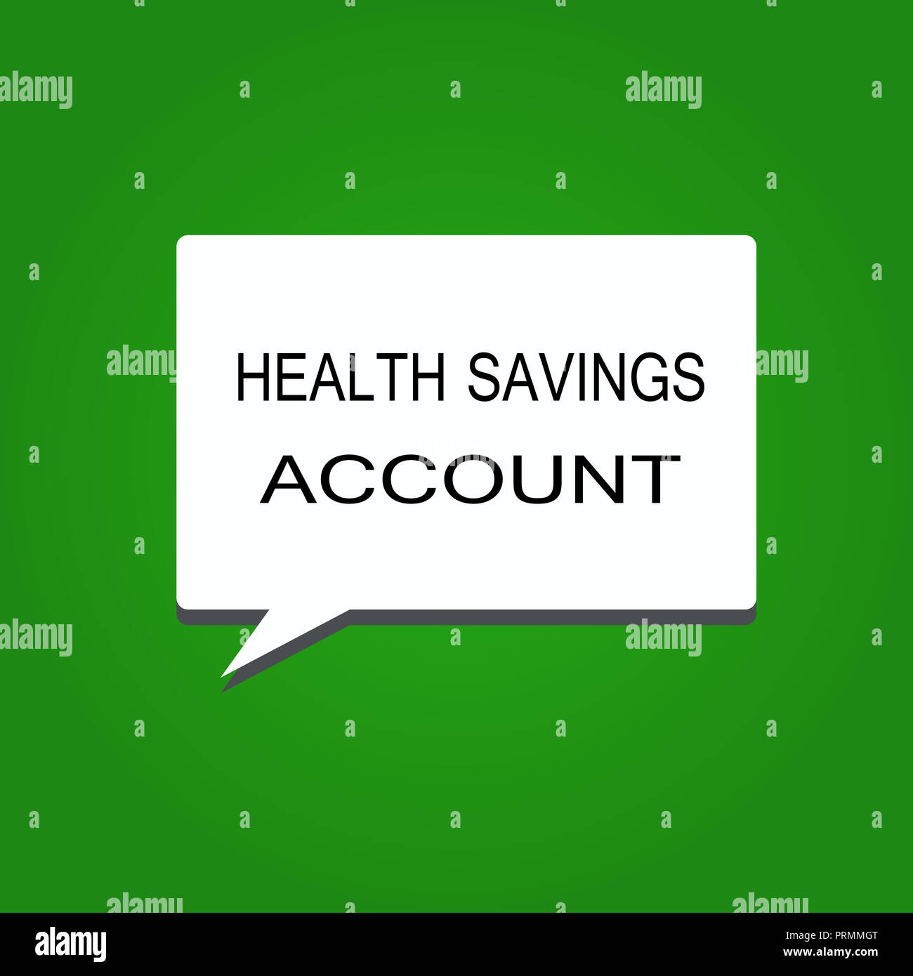 writing note showing health savings account business photo showcasing users with high deductible health insurance policy