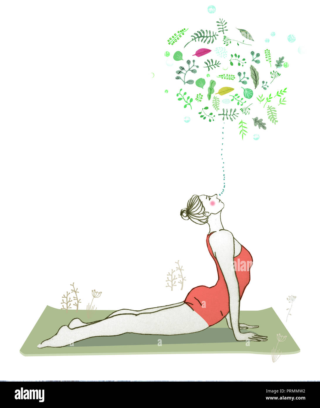 yoga - Stock Image