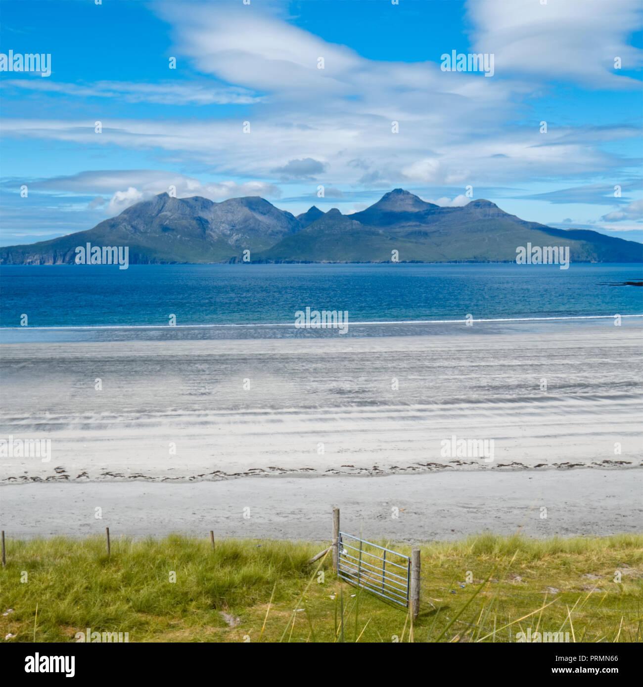 Laig Beach, Isle of Eigg - Stock Image