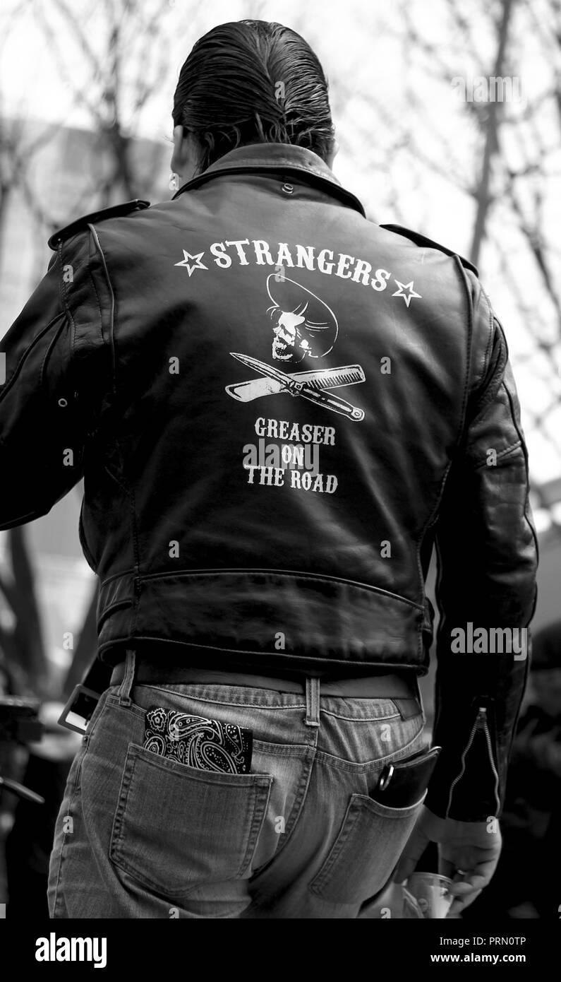 The Strangers in Yoyogi Park, Tokyo New York - Stock Image