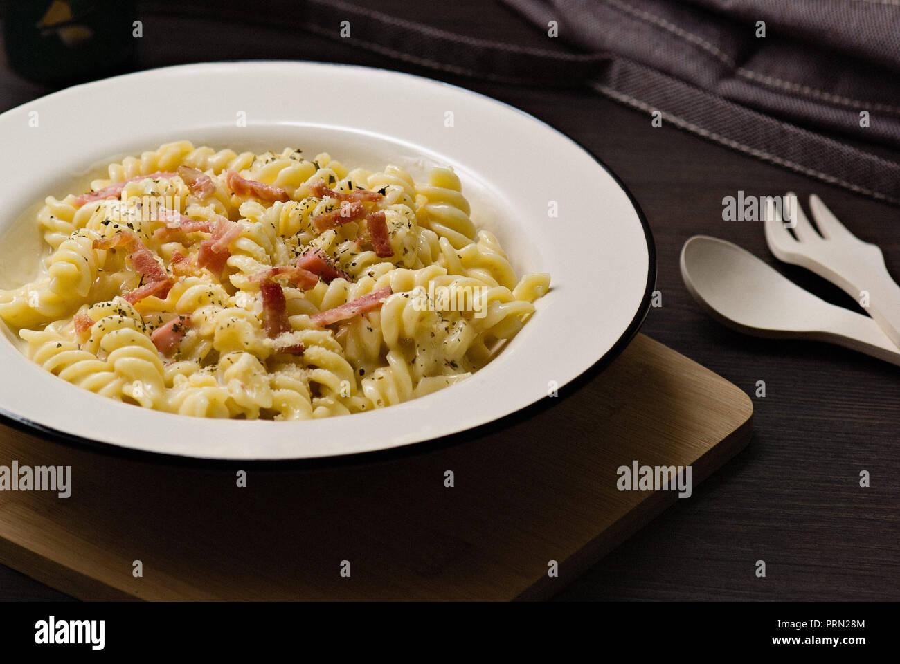 Food Spaghetti Stock Photo