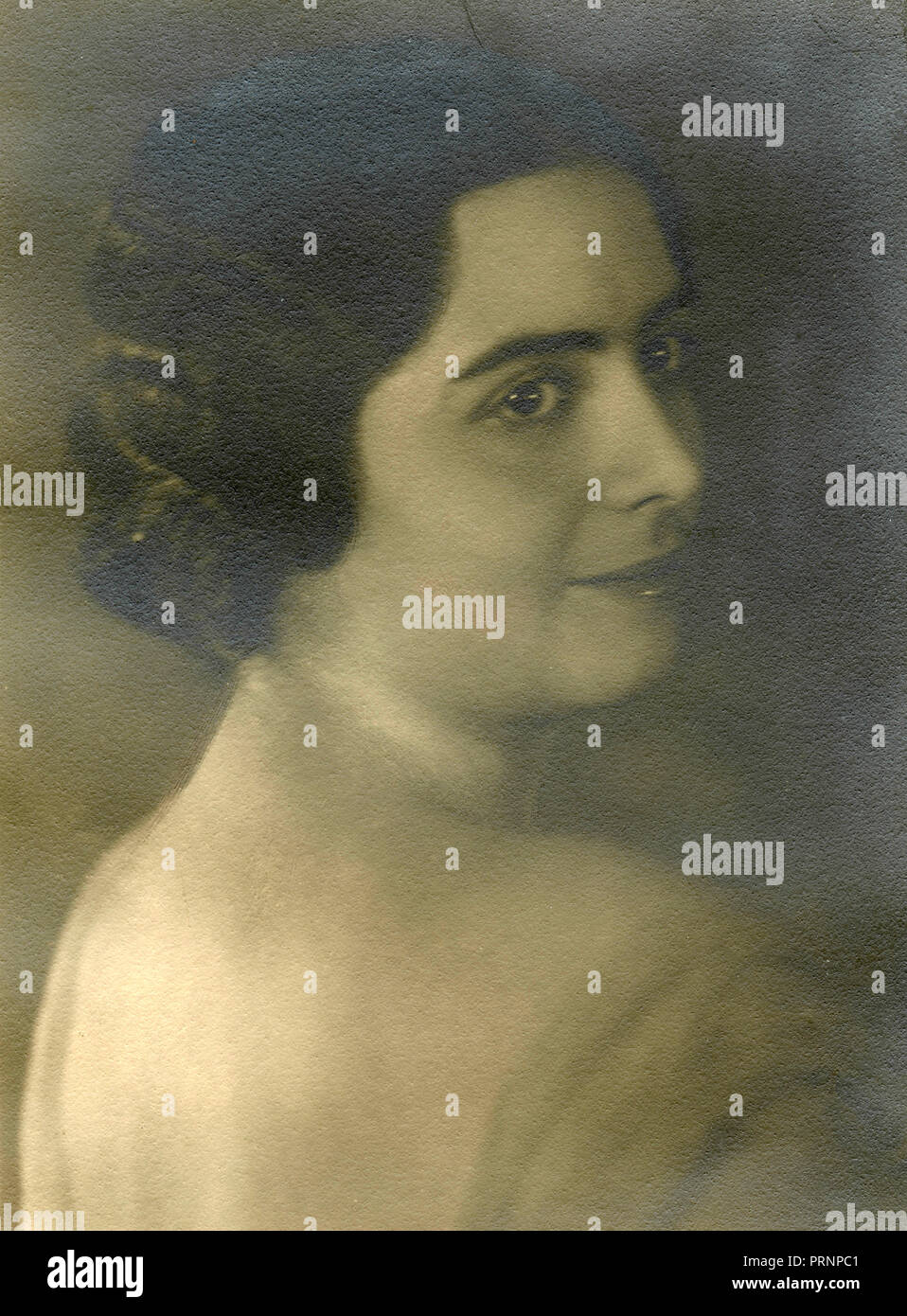 Portrait of a woman, 1930s - Stock Image