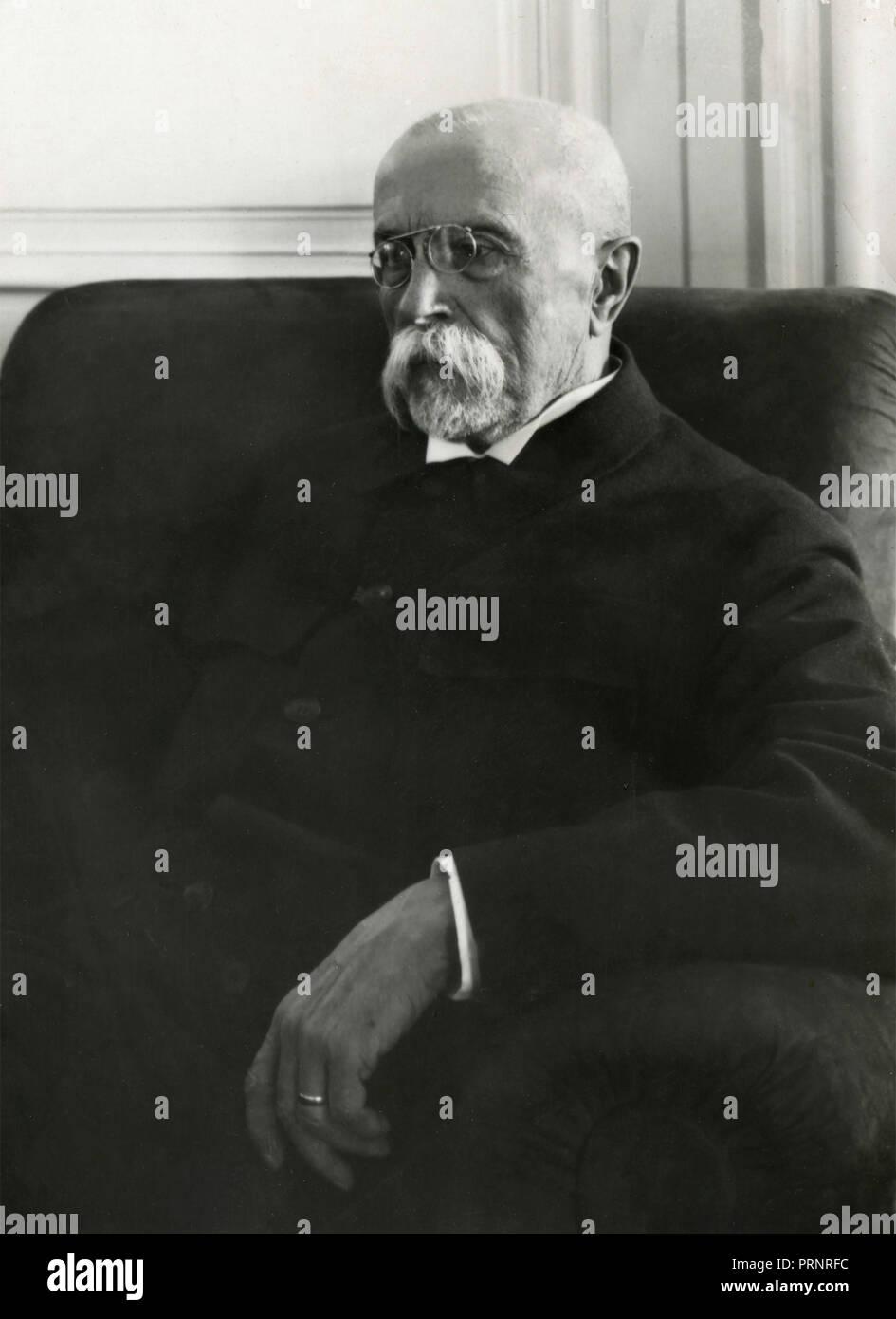 Portrait of an old gentleman, 1910s - Stock Image
