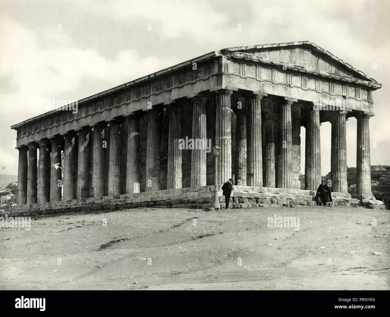 Temple of Theseus, Athens, Greece 1930s - Stock Image