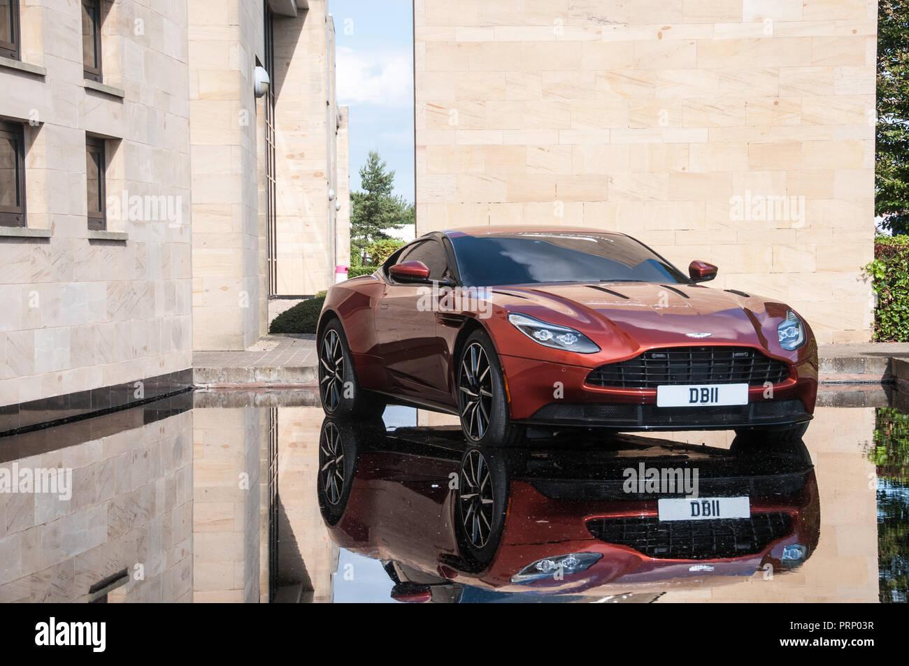 Aston Martin - Stock Image
