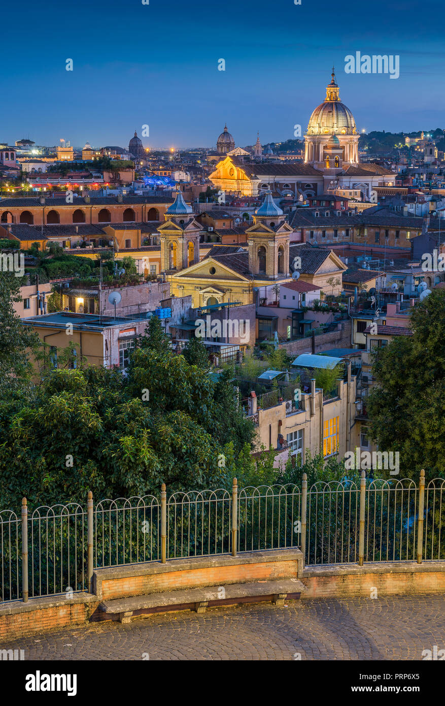 View From Terrazza Del Pincio Stock Photos View From