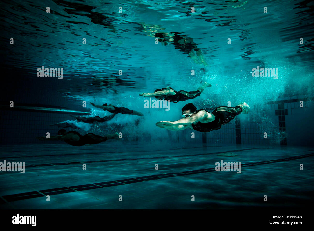 Prod DB © 42 -The Amel Company - Motion Picture Capital - Nostromo Pictures / DR TITAN (THE TITAN) de Lennart Ruff 2018 GB/ESP./USA science fiction; s Stock Photo