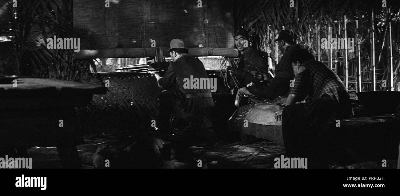Prod DB © Hammer Film Productions / DR SECTION D'ASSAUT SUR LE SITTANG YESTERDAY'S ENEMY de Val Guest 1959 GB ww2; - Stock Image