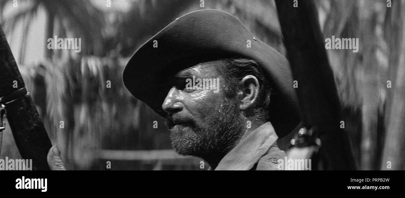 Prod DB © Hammer Film Productions / DR SECTION D'ASSAUT SUR LE SITTANG YESTERDAY'S ENEMY de Val Guest 1959 GB ww2; soldier - Stock Image