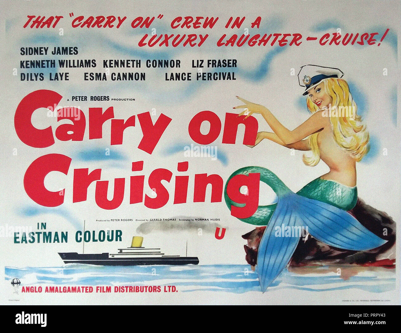 Prod DB © Anglo-Amalgamated Film Distributors - Peter Rogers Productions / DR CARRY ON CRUISING de Gerald Thomas et Ralph Thomas (non credite) 1962 GB - Stock Image