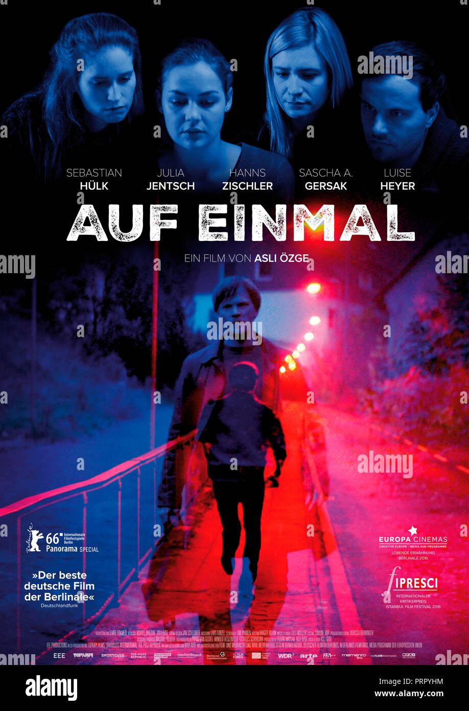 Prod DB ©EEE Productions / DR LENDEMAIN DE FETE (AUF EINMAL) de Asli Ozge 2016 ALL./HOL. affiche allemande - Stock Image