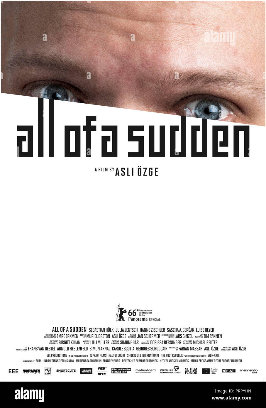 Prod DB ©EEE Productions / DR LENDEMAIN DE FETE (AUF EINMAL) de Asli Ozge 2016 ALL./HOL. affiche internationale - Stock Image