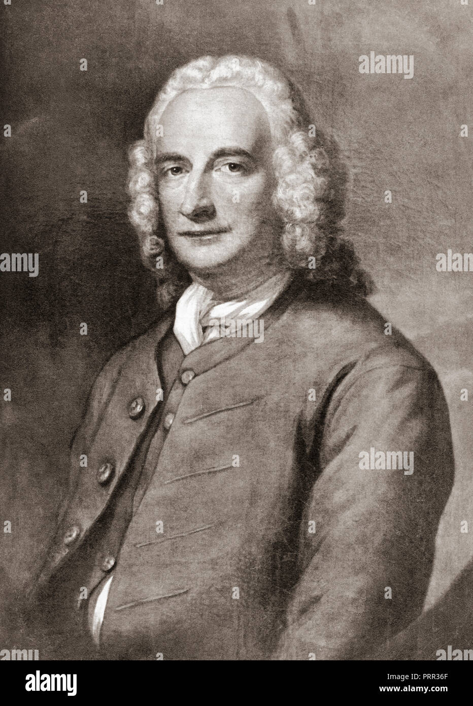 Henry Fielding, 1707 – 1754.  English novelist, dramatist and magistrate. - Stock Image