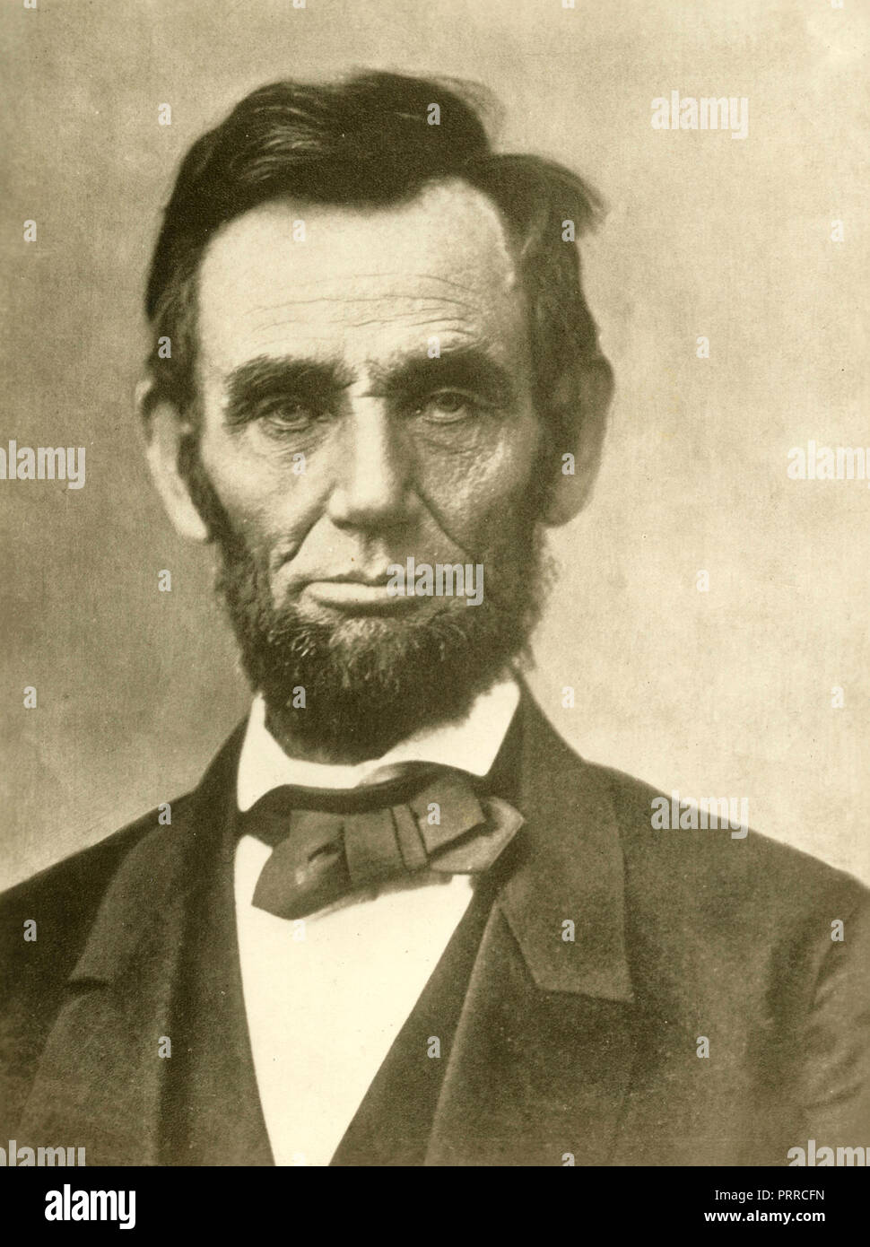 US President Abraham Lincoln - Stock Image