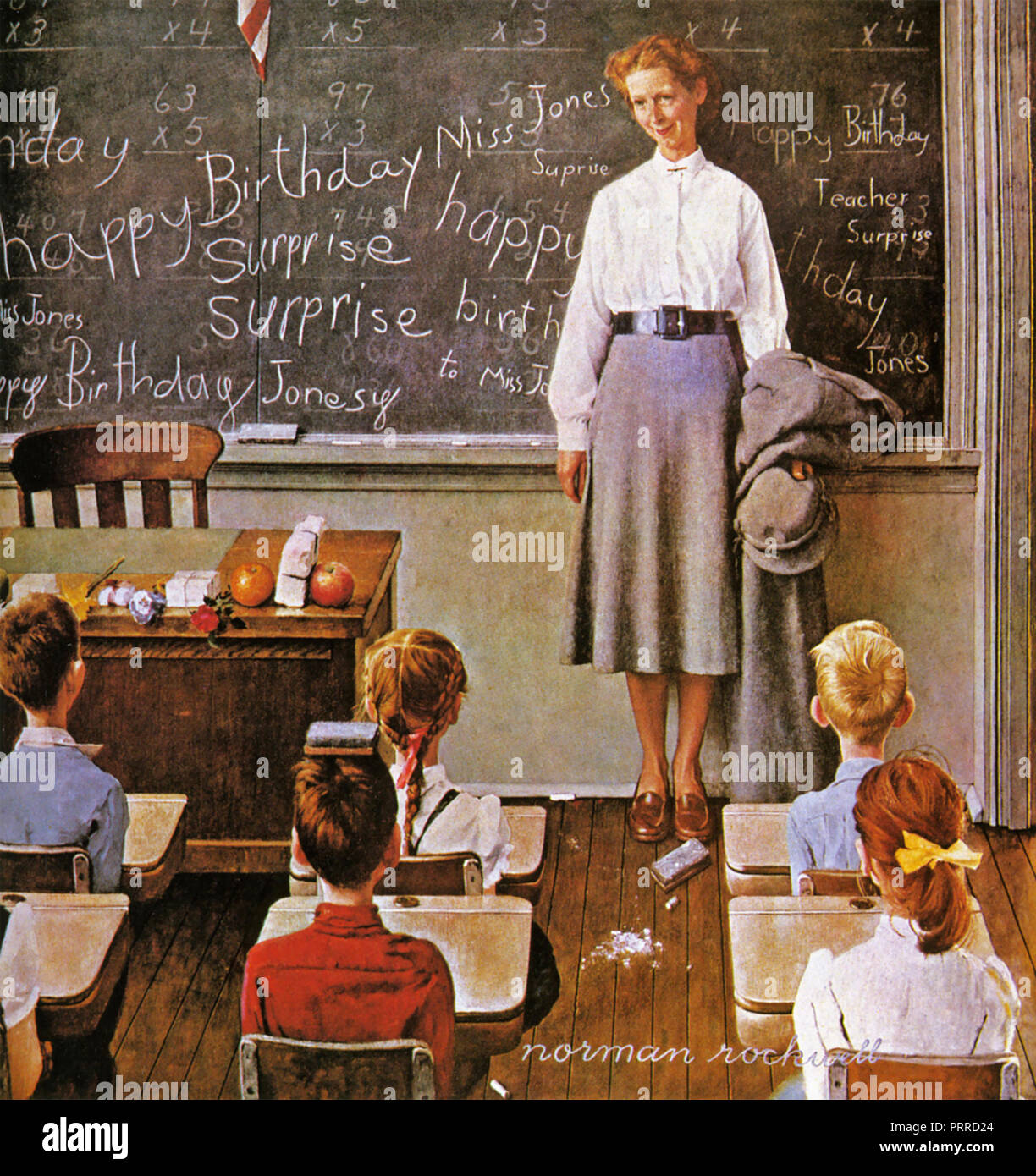 NORMAN ROCKWELL (1894-1978) American author, painter and