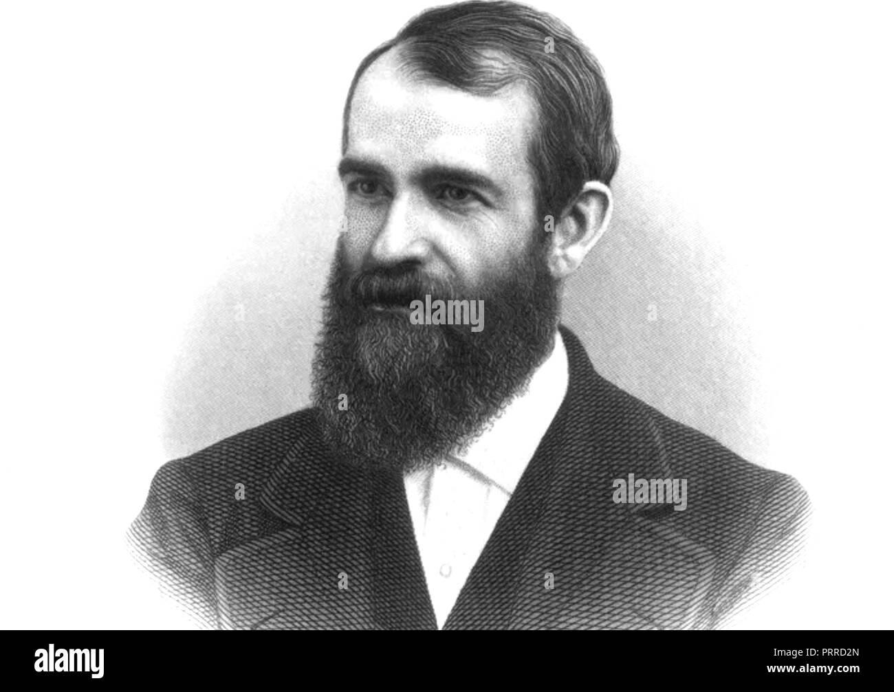 JAY GOULD (1836-1892) American railroad developer - Stock Image
