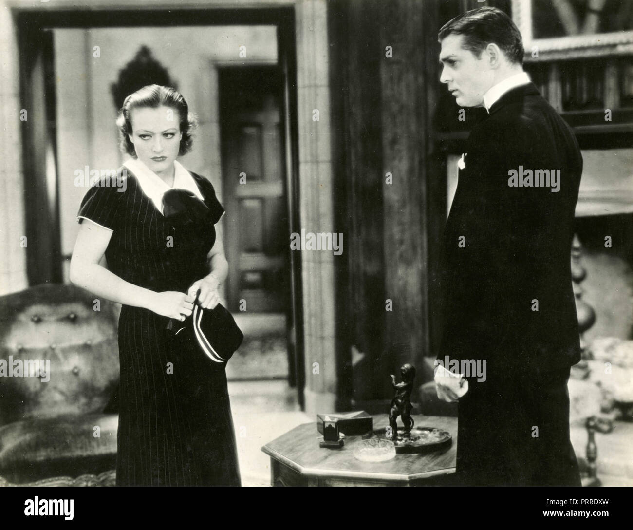 Actors Joan Crawford and Clark Gable in the movie Dancing Lady, USA 1933 - Stock Image