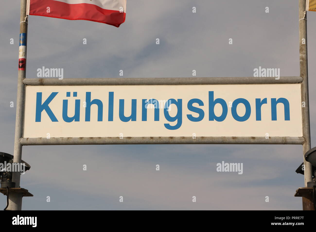 Im Wald zwischen Kühlungsborn-Ost und Kühlungsborn-West - Stock Image