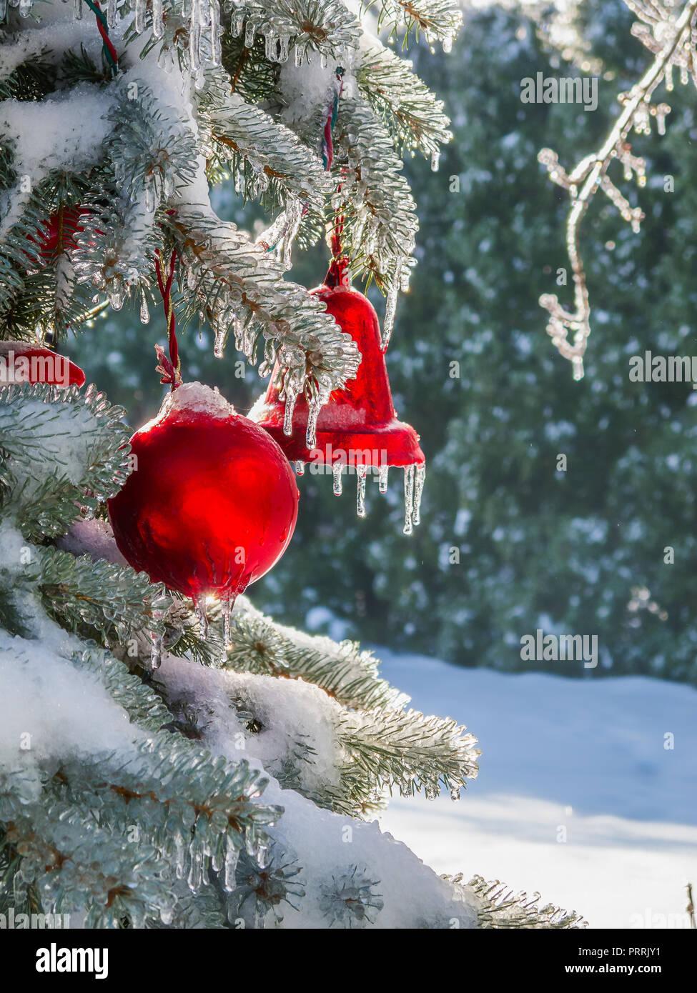 Outdoor Christmas Ornaments Stock Photos Outdoor Christmas